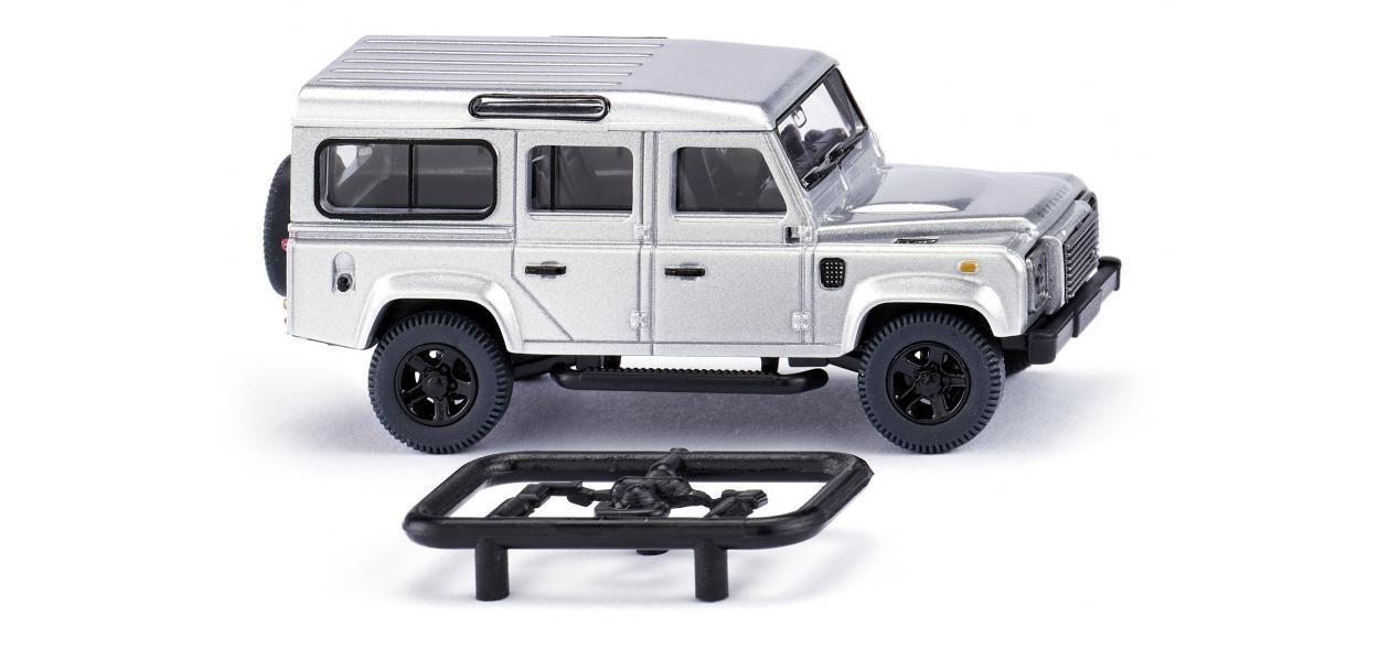 Wiking Land Rover Defender 110 - silber-metallic