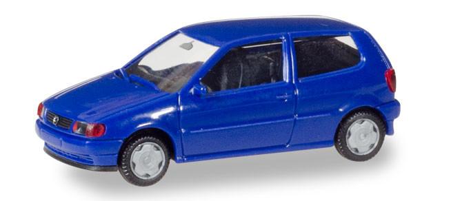 Herpa MiniKit: VW Polo 2-türig, ultramarinblau