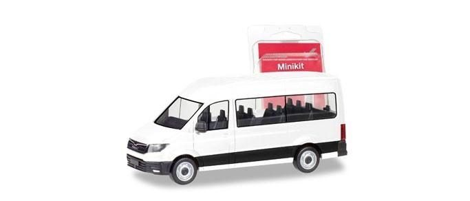 Herpa MiniKit: MAN TGE Bus, weiß
