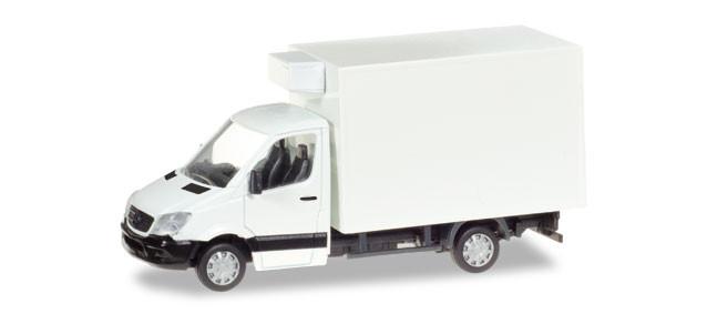 Herpa MiniKit Mercedes-Benz Sprinter Kühlkoffer, unbedruckt