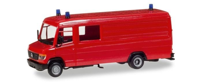 Herpa MiniKit MB T2 Vario Kasten, rot