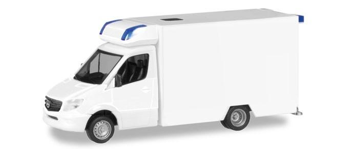 Herpa MiniKit: Mercedes-Benz Sprinter Fahrtec RTW, weiß, NH 05-06/18