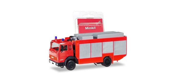 Herpa Mini-Kit IVECO RW 2 in rot,Nh 09-10/18