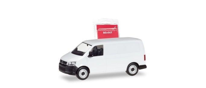 Herpa Mini-Kit VW T6 Kasten in weiß,NH 11-12/18