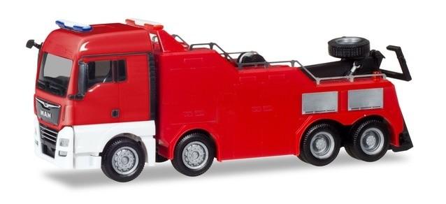 Herpa Mini-Kit MAN TGX XLX Empl Bergefahrzeug in rot, NH 01-02/19