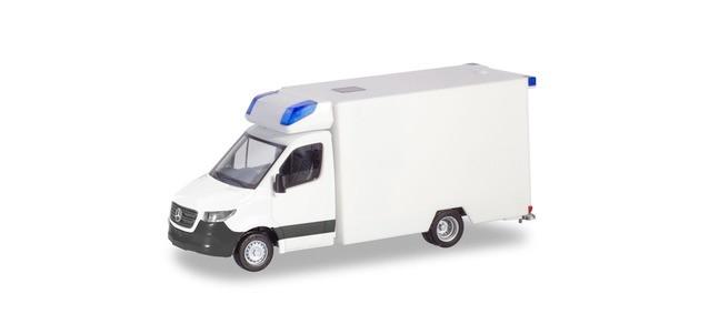 """Herpa Mini-Kit MB Sprinter 18 """"RTW Fahrtec in weiß"""", NH 01-02/20,(Vorbestellung / Modell noch nicht lieferbar !!!)"""