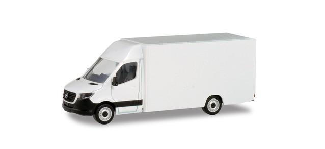 """Herpa Minikit MB Sprinter 18 """" Paketverteilerfahrzeug in weiß """", NH 03-04/20"""