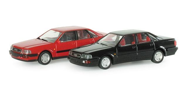 Herpa Audi V8®, standard tiefschwarz