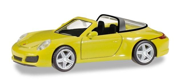 Herpa Porsche 911 Targa 4, racinggelb -Einzelstück-