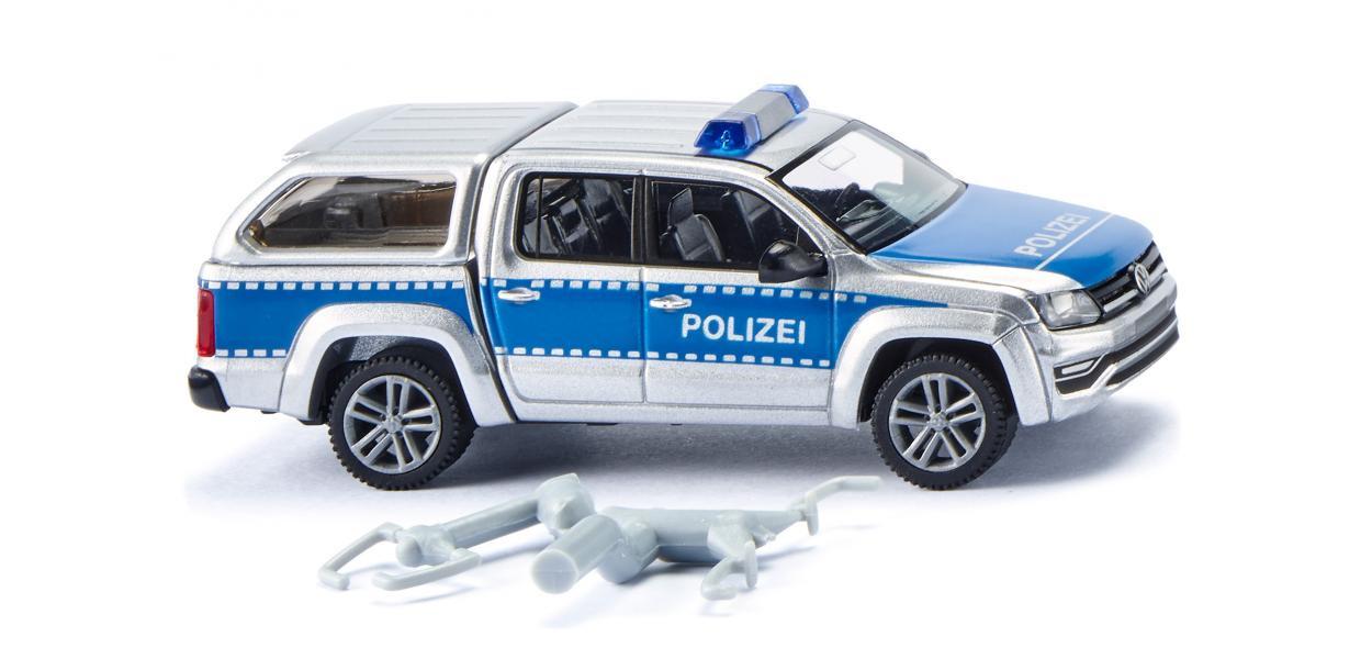 Wiking Polizei - VW Amarok GP Comfortline