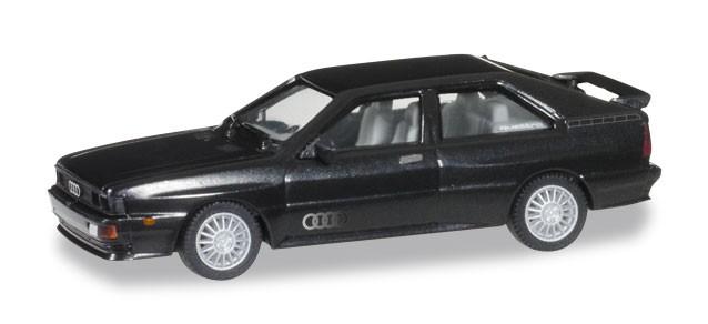 Herpa  Audi Ur-Quattro, havannaschwarz metallic