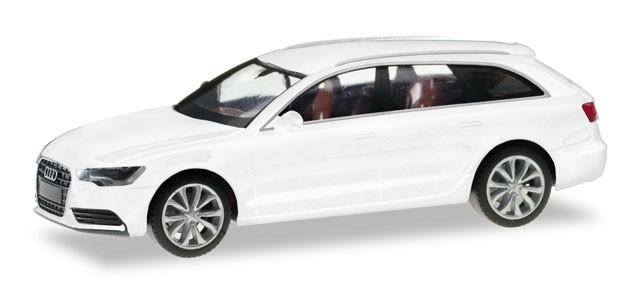 Herpa Audi A6 Avant, gletscherweiß metallic