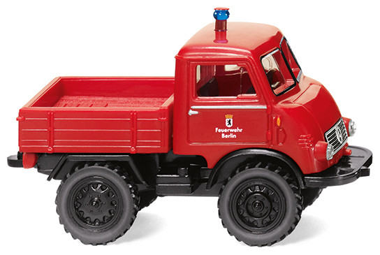 """Wiking Unimog U 401 """" Feuerwehr mit Pritsche """", NH 02/20,"""