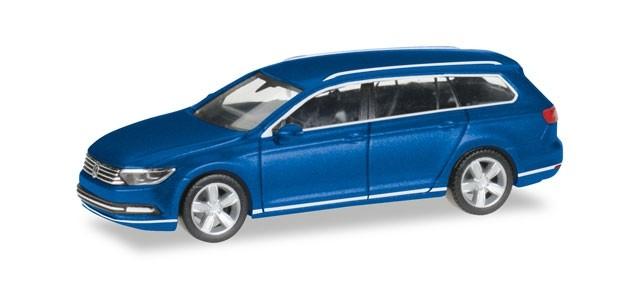 Herpa VW Passat Variant, atlanticblau metallic