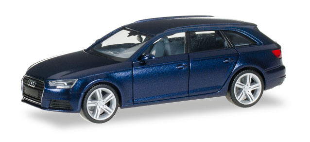 Herpa Audi A4 Avant, scubablau metallic -Einzelstück-