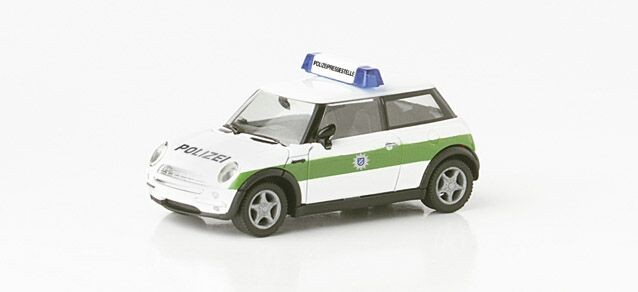 """Herpa Mini Cooper """"Polizei München"""""""