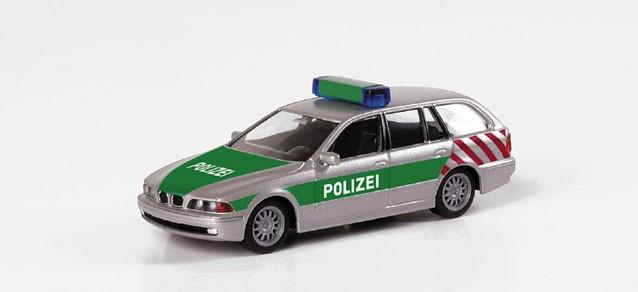 Herpa BMW 5er Touring Autobahnpolizei Berlin