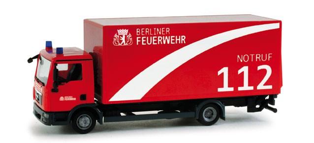 Herpa MAN TGL Koffer LKW Berliner Feuerwehr