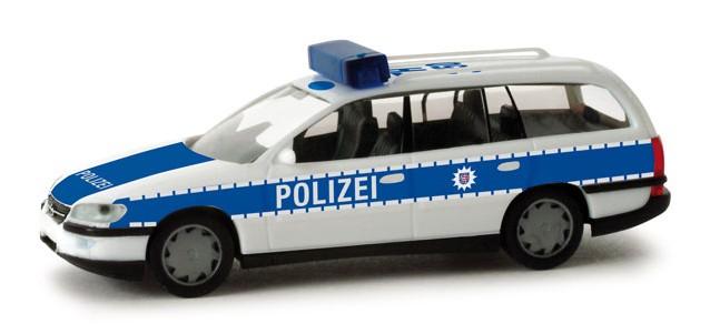 Herpa Opel Omega Caravan Polizei Thüringen