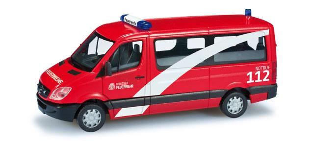 Herpa MB Sprinter 06 MZW Berliner Feuerwehr