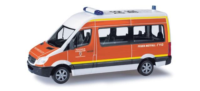 Herpa MB Sprinter 06 HD MZW Feuerwehr Düsseldorf