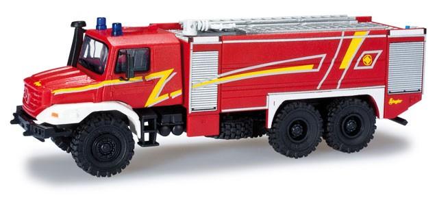 Herpa MB Zetros TLF im Ziegler Design