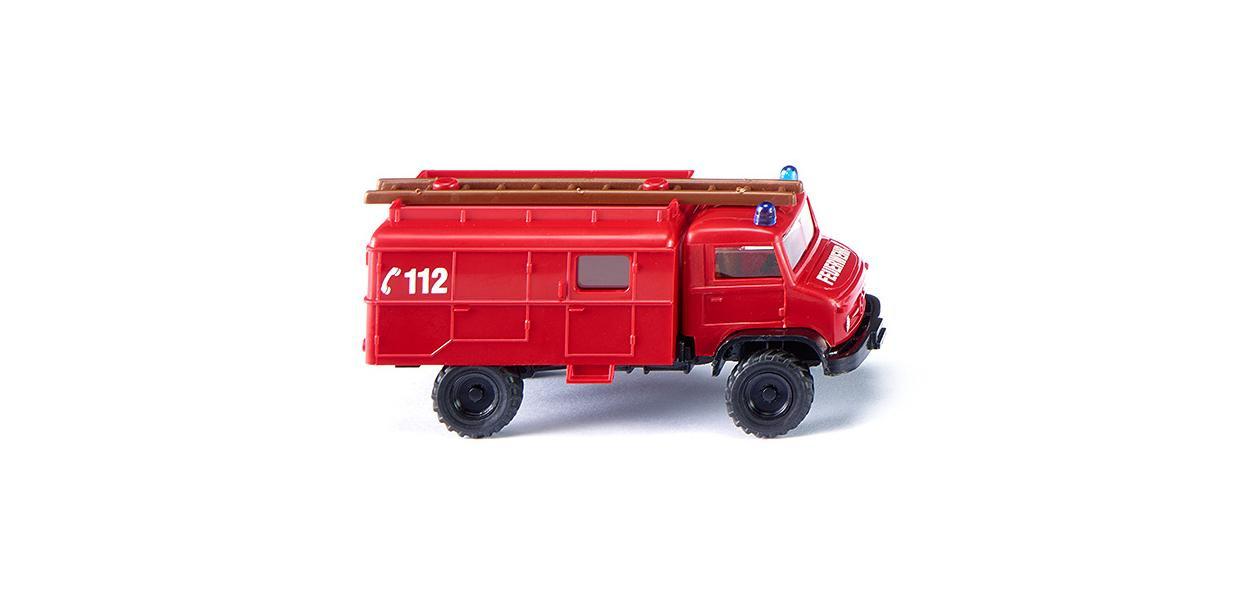 Wiking Unimog S Feuerwehr - Löschfahrzeug