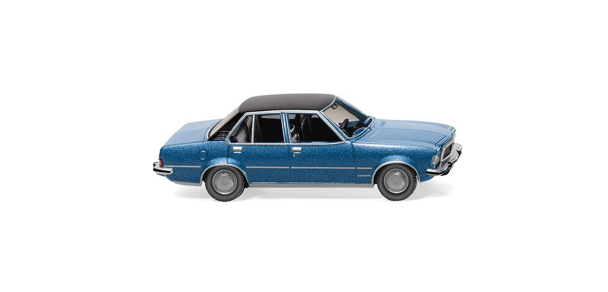 Wiking Opel Commodore B - laserblau metallic