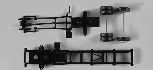Herpa LKW-Fahrgestell für Drehleiter DLK 23/12 Inhalt: 2 Stück (Restmenge)