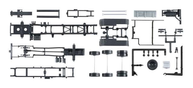 Herpa LKW-Fahrgestell MAN TGX Euro 6 mit Abrollkinematik Inhalt: 2 Stück