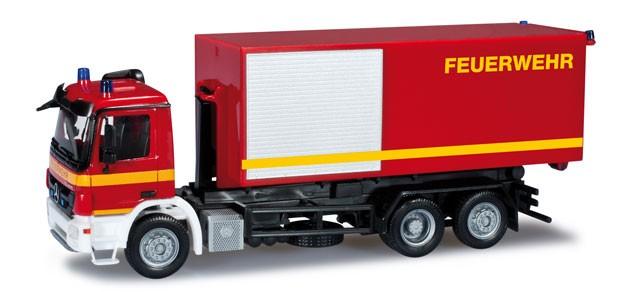 Herpa MB Actros S 08 WLF Feuerwehr -Einzelstück-
