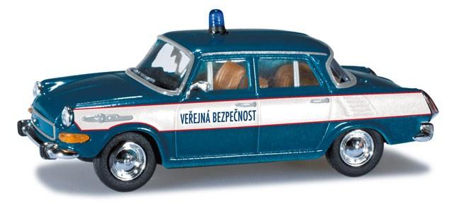 "Herpa Skoda 1000 MB® ""Polizei CZ""  (Restmenge)"
