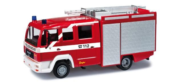 Herpa MAN LE 2000 LF 10/6 Feuerwehr Nürnberg
