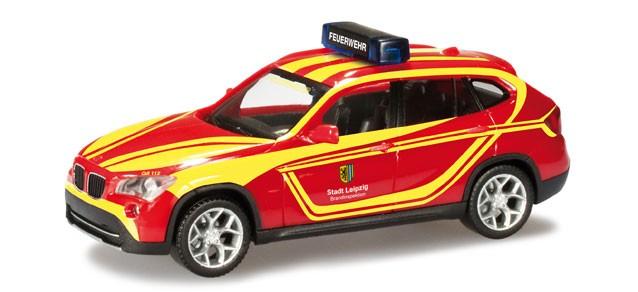 Herpa BMW X1 Feuerwehr Leipzig