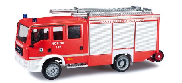 Herpa MAN TGM LF 20/16 Feuerwehr Ransbach-Baumbach