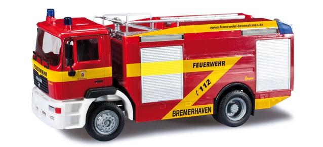 Herpa MAN M 2000 TLF 24/50 Berufsfeuerwehr Bremerhaven