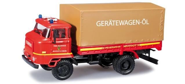 Herpa IFA L 60 GW-Öl Feuerwehr Neustadt / Coburg -Einzelstück-