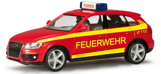 Herpa Audi Q5 ELW Feuerwehr Lindau/Bodensee