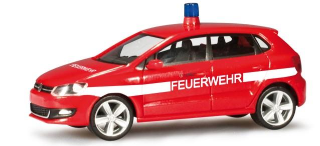 Herpa VW Polo Feuerwehr Frankfurt -Einzelstück-