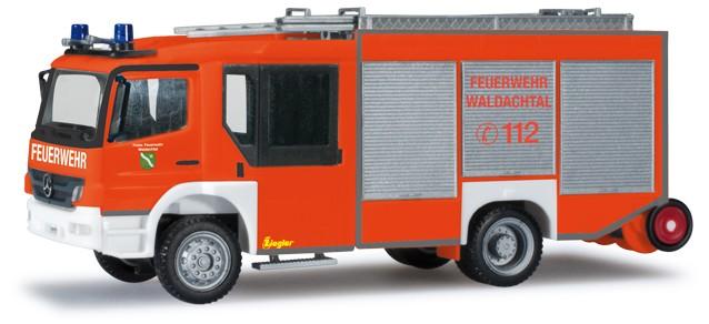 Herpa MB Atego Z-Cab LF 20 Feuerwehr Waldachtal