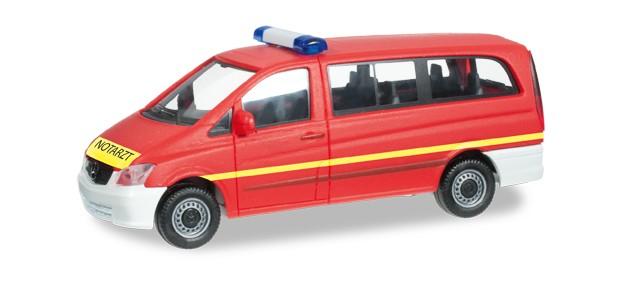Herpa MB Vito Notarzt Feuerwehr -Einzelstück-