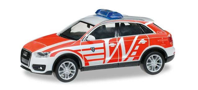 Herpa Audi Q3 ELW Feuerwehr Wiesbaden -Einzelstück-
