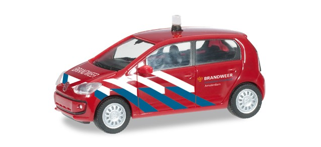 Herpa VW Up Brandweer Amsterdam -Einzelstück-