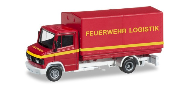 Herpa MB T2 Pritschen LKW Feuerwehr