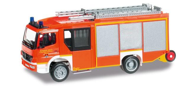 Herpa MB Atego Z-Cab HLF Feuerwehr Bad Sülfeld