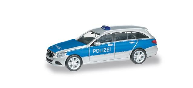 Herpa MB C-Klasse T-Modell Polizei,