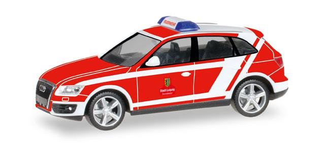 Herpa Audi Q5 ELW Feuerwehr Leipzig -Einzelstück-