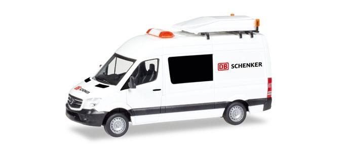 "Herpa MB Sprinter BF3 ""DB Schenker"""