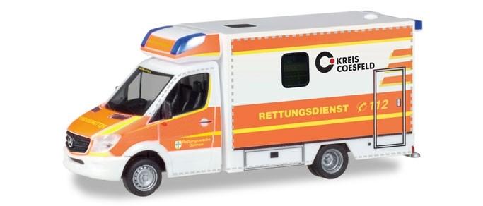 """Herpa MB Sprinter Fahrtec RTW """"Rettungsdienst Dülmen"""",NH 05-06/18"""