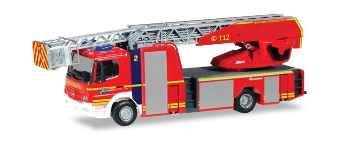 Herpa MB Atego 10 DLK Feuerwehr Gelsenkirchen, NH 09-10/18